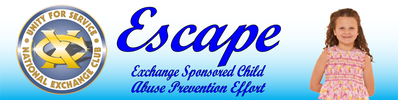 Escape Header With Logo