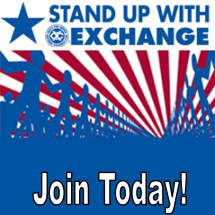Stand Up for Exchange Logo